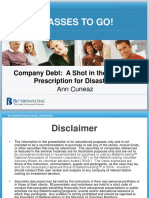 Company Debt Ann Cune Az
