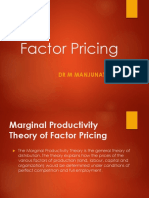 Factor Pricing - Class