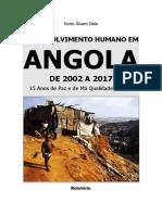 Relatório Desenvolvimento Humano Em Angola 2002 2017 Nuno Álvaro