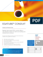 Egatube Conduit