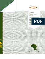Fundação Mo Ibrahim Relatório Do Fórum Ibrahim de 2018 Serviço Público Em África