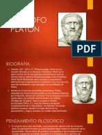 FILOSOFO PLATÓN