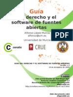 Guía del derecho y el software de fuentes abiertas - Transparencias curso UM 11/12/10.