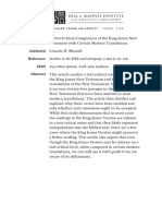 Text-Critical Comparison of the King James New Testament with Certain Modern Translations.pdf