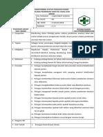 Sop Monitoring Status Fisiologi Pasien Selama Pemberian Anestesi Lokal Dan Sedasi