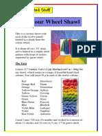 Colour Wheel Shawl