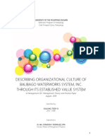 Describing Organizational Culture of BWSI Through Its Established Value System.pdf