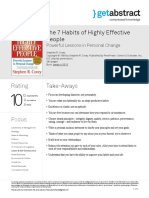 The 7 Habits of Highly Effective People Covey en 3515