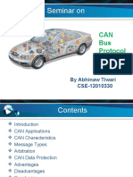 Seminar on CAN Bus Protocol (2015)_PPT