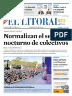 El Litoral Mañana | 19/10/2018