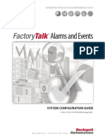 FT Alarms and Events System Configuration Guide
