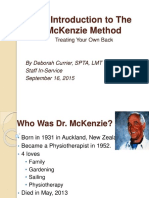 An Introduction to the Mckenzie Method 1