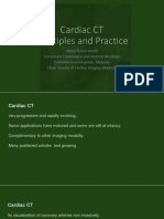 Principle and Practice of CT in Cardiac Assessment