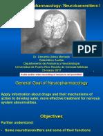 Basics of Neuropharmacology -- Neurotransmitters I_handout
