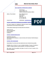 Mutual Solvent MSDS