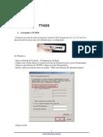 Manual TT422S