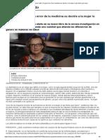 Salud_ Carme Valls_ Un Gran Error de La Medicina Es Decirle a La Mujer Lo Que Tiene Que Hacer