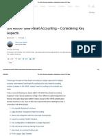 Imp S_4 HANA- New Asset Accounting – Considering Key Aspects _ SAP Blogs