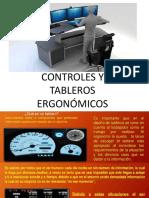 Tableros y Controles Ergonomicos