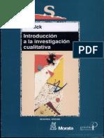 Introduccion a La Investigacion Cualitativa