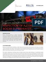 Ronik Coal Fired Boiler Superheater Inspection