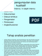 7. Langkah Analisis Data Kualitatif