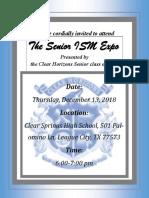 senior ism expo invitation