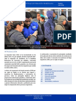 Monitoreo de flujo de población venezolana