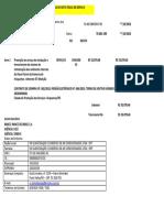 Modelo Porto Velho RO Serviços Ariquemes 8ª.medição