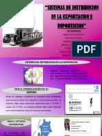 Sistemas de Distribucion en La Exportacion e Importacion