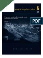 Comercialização de Energia Elétrica no Brasil