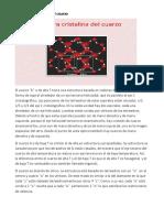 Estructura Cristalina Del Cuarzo