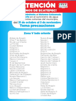 CORTE DE AGUA ECATEPEC