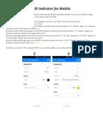 TDI Indicator for Mobile