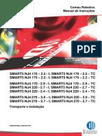 MANUAL DE TRANSPORTE E INSTALAÇÃO COMAU SMART 5 NJ4