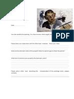 Worksheets of Observation