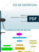 2.Propiedades y Clasificación de Rocas