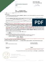 Act Aditional La Contractul de Studii Medicina - Limba Romana - An 6