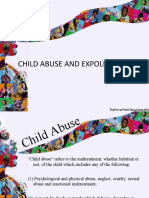 13408047 Child Abuse and Exploitation