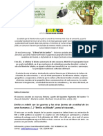 Comunicado de Prensa 2018 - Brasil de Los Sueños