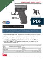 Heckler & Koch's VP9-B Pistol Specs