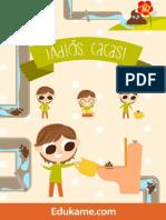 JuegosyActividades Poster Adios Cacas