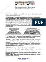 foca no resumo Juizados Especiais Criminais Lei 9.099.pdf