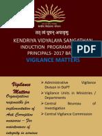Vigilance Matters PPT