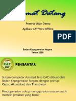 Juknis Aplikasi CAT