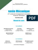 Cours Mecanique 4ST