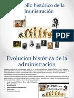 Desarrollo Histórico de La Administración
