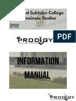 Prodigy XII Instruction Manual