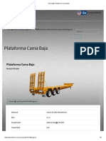 FICHA TECNICA DeLucio© _ Plataforma Cama Baja LB-09