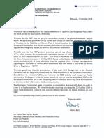 Carta de la Comisión Europea al Gobierno de Pedro Sánchez